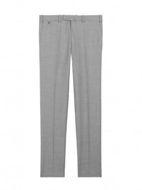 BZV3 FITTED PANTS – WINTER TRAVEL WEAR 98000 - PEARL GREY 002