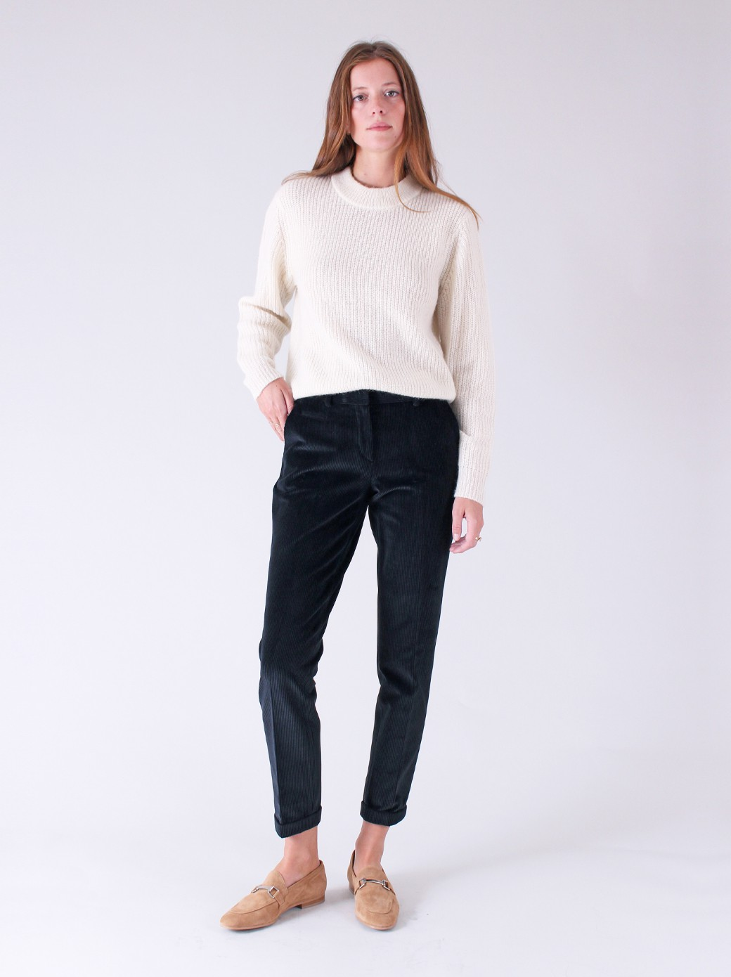 CITY IN STRETCH WIBE RIBS CORDUROY