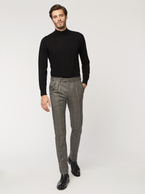 BZV3 WITH TWE FRENCH PLEATS IN WOOL 71418